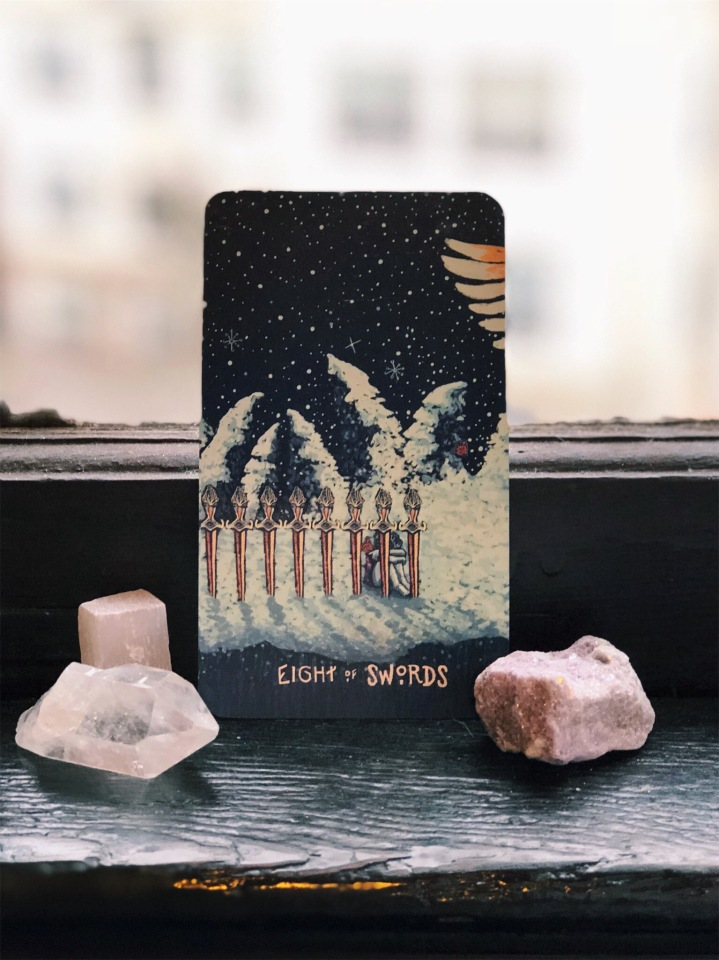 Tarot of the Day: 8 ofSwords